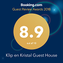 Booking.com Reward 2019 Klip en Kristal